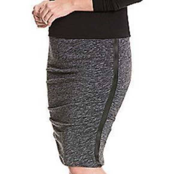 bf543ceb75c Lane Bryant Plus Size Tummy Control Gray Skirt NWT